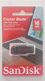 SANDISK 16 GB. FLASH BELLEK CRUZER BLADE
