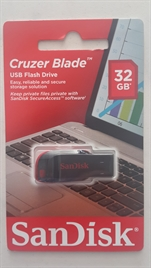SANDISK 32 GB. FLASH BELLEK CRUZER BLADE