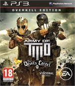 ARMY OF TWO THE DEVILS CARTEL PS3 OYUN