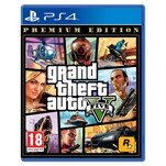 PS4 GRAND THEFT AUTO V GTA 5 PS4 OYUN Premium Edition