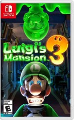 Nintendo Switch Luigis Mansion 3 Orjinal Oyun