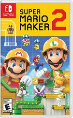 Nintendo Switch Super Mario Maker 2 Orjinal Oyun